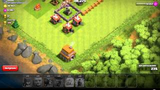 Let`s play CoC (clash of clans) Nr 1.