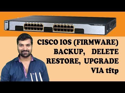 Cisco 3750 IOS Backup, Delete, Restore and Upgrade (Hindi)