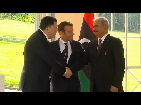 Libyan leaders arrive in Paris for talks to restore order in the country