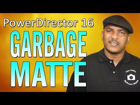 CyberLink PowerDirector 16 | Garbage Matte Tutorial