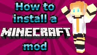 How to Install a Minecraft Mod - Minecraft Mod Tutorial (1.7.10 Tested)