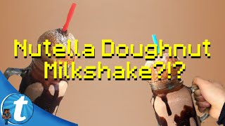 Nutella Doughnut Milkshake (Tella Ball Shake)   A NUTELLA DREAM!