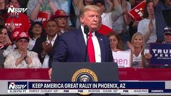 FULL RALLY: President Trump's Keep America Great Rally in Phoenix, AZ