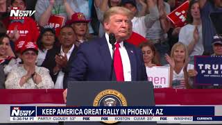 FULL RALLY: President Trump's Keep America Great Rally in Phoenix, AZ