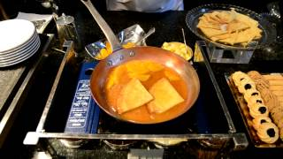 Crepe Suzette At Colonnade Lunch Buffet