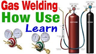 How to use gas brazing welding set gas pressure setting learn in Hindi open this video
