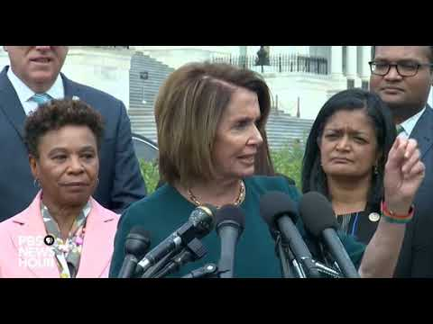 "Nancy Pelosi says ""They Came for the Japanese, Now They are Coming for the Dreamers"""