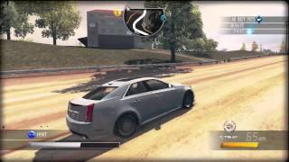 Cadillac CTS-V (2010) Review Driver SF 2011