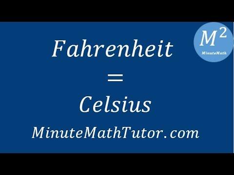 Fahrenheit = Celsius