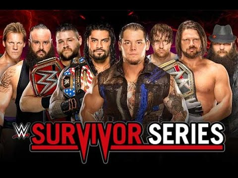 WWE Survivor Series 2016: Team Raw vs. Team SmackDown - (5 on 5 Survivor Series Elimination Match)