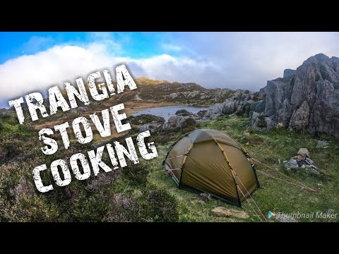 Camping at Innominate Tarn | Tents, mountains & cooking steak on the Trangia alcohol stove