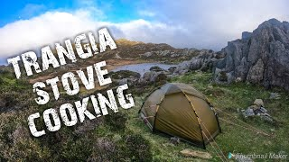 Wild camping in the Hilleberg Soulo tent & cooking with a trangia stove