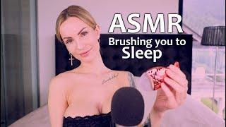 ASMR Amy Brushing you to Sleep + positive Thoughts  - English Whispering