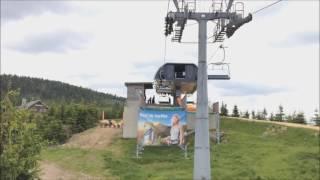 Ścieżka w obłokach - przejazd kolejką linową - Dolni Morava Czechy