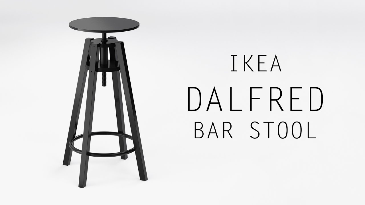 dalfred ikea bar spool blender timelapse