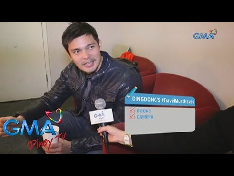 Kapuso Backstage Pass: Dingdong Dantes' travel essentials - 동영상