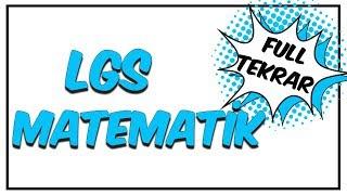 Matematik Full Tekrar | LGS Son Tekrar Programı