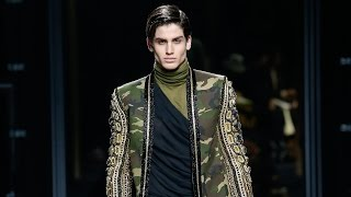Balmain Fall/Winter 2017 Menswear Show