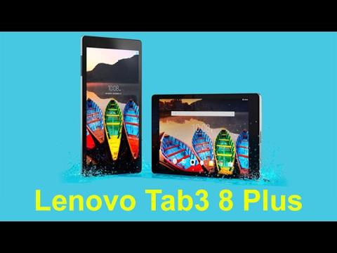 Планшет Lenovo Tab3 8 Plus засветился ещё до официальной презентации