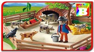 Playmobil. Sa învățăm animalele. ANIMALELE DOMESTICE ȘI SUNETELE LOR. Bogdan`s Show la ferma.