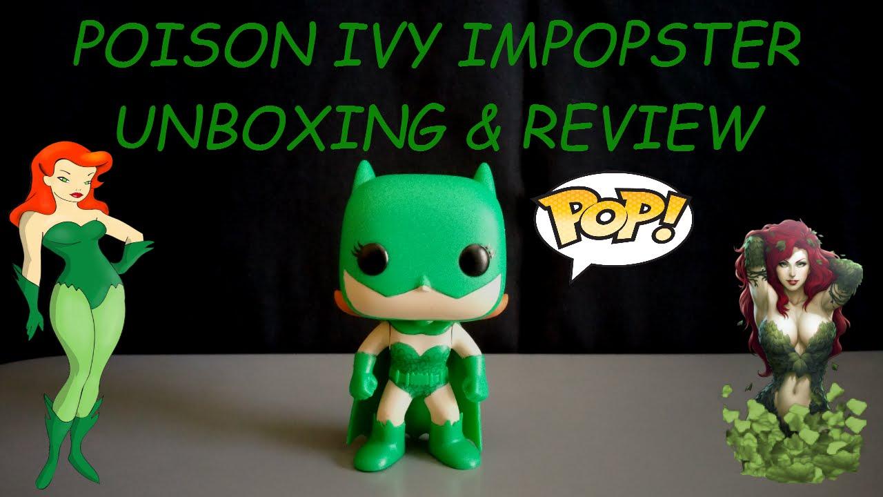 Funko POP Vinyl Batgirl as Poison Ivy Impopster