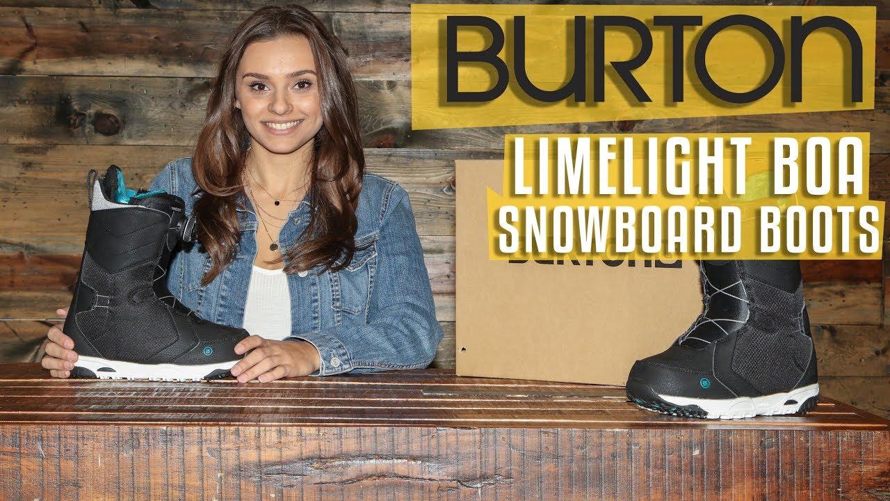 Burton Limelight Black Snowboard Boot