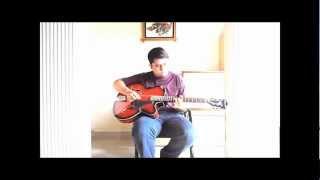 Ajeeb daatstaan hai yeh (Dil Apna Aur Preet Parai, 1960) on Lead Guitar