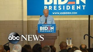 Joe Biden campaigns in key primary state