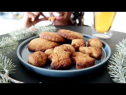 Ginger Cookies Vegans Et Sans Sucre Ajouté 🍪: Recette Facile [ Manger Mieux Pendant Les Fêtes]