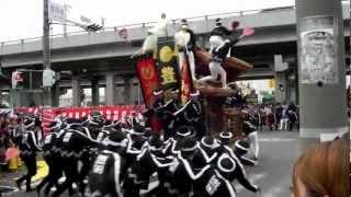 2012年10月6日上神谷だんじり祭 連合.