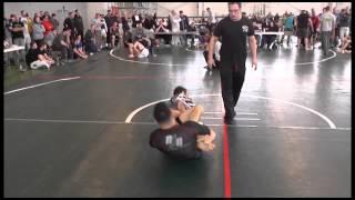 Eddie Cummins (Renzo Gracie) vs Josh Hayden Nogi BJJ Leg Lock Battle