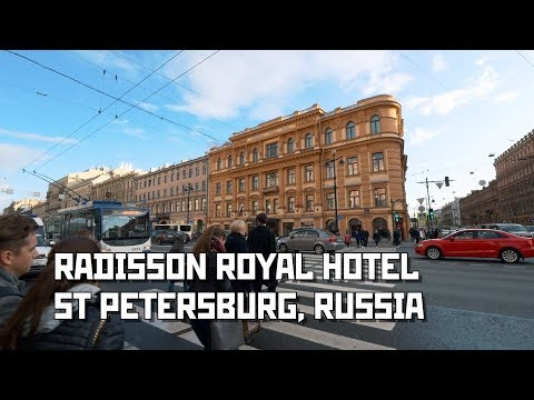 """Radisson Royal"" Hotel at Nevsky Ave., St Petersburg, Russia"