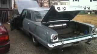 1963 impala 283 ci start up