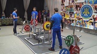 Чемпіонат області з класичного жиму лежачи відбувся у Коломиї