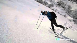 How to do a Kick Turn on skis or splitboard