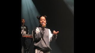 Ella Mai - Live Concert at Bloomsburg University ( 2018 )