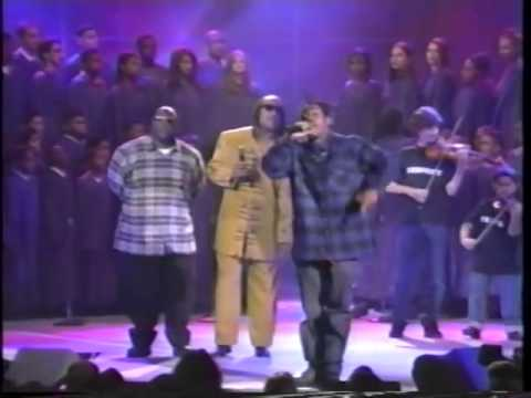 Coolio Ft. L.V. & Stevie Wonder! Gangsta's Paradise Live! [Billboard Awards 1995]