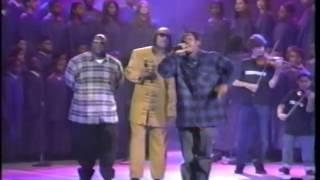 Скачать Coolio Ft L V Stevie Wonder Gangsta S Paradise Live Billboard Awards 1995