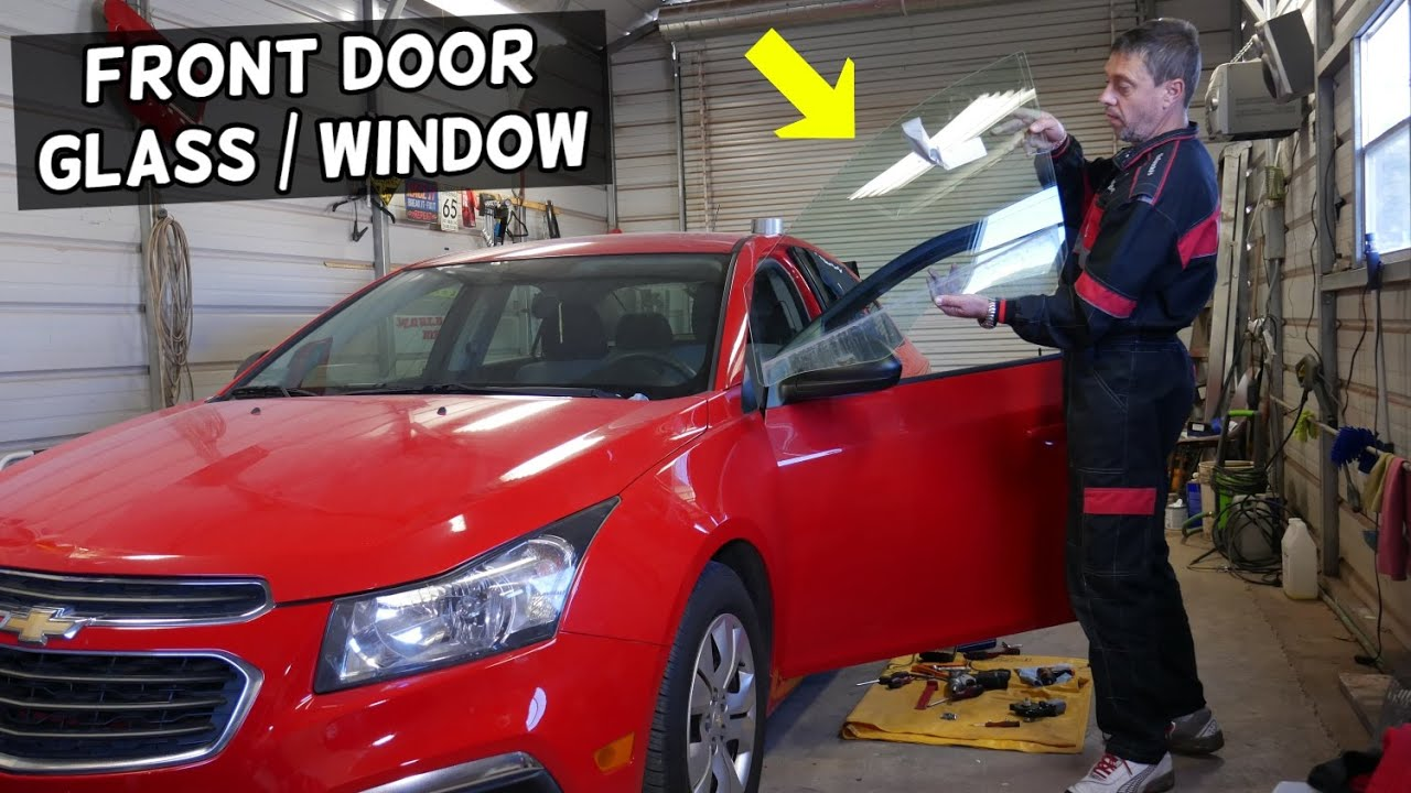 Chevrolet Cruze Front Door Side Window Glass Replacement Removal Youtube