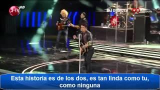 Luis Fonsi /yo quiero amarte hoy /Festival de Viña 2012 /con Letra [HD]