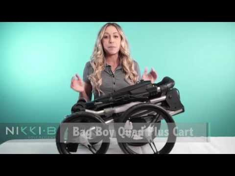 Bag Boy Quad Plus Push Cart Nikki-B golf reviews