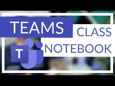 Class Notebook in Microsoft Teams (What is it and How to use it)