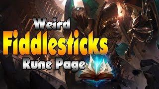 Weird Fiddlesticks Rune Page | Fiddlesticks Support (League of Legends)