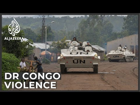 Heavy gunfire erupts as DR Congo's anti-UN protests continue