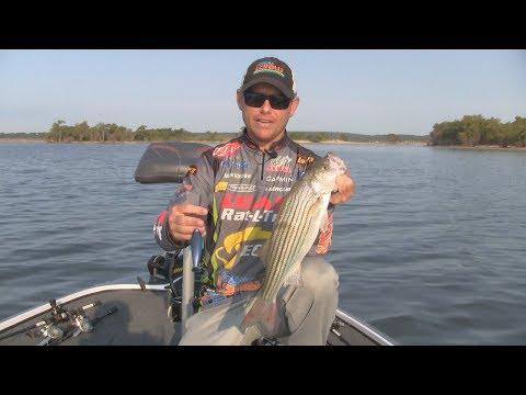 FOX Sports Outdoors SouthWEST #31 Keystone Lake Oklahoma Striped Bass Fishing