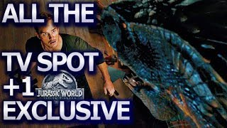 ALL spot +1 EXCLUSIVE | Blue is Killed | Jurassic World (2018) Trailer, Chris Pratt, Dinosaurs