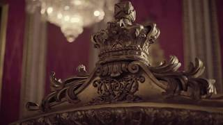 Conservation of Queen Victoria's Throne