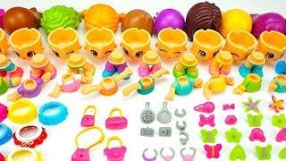 Игрушки ПИНИПОН, собираем 10 куколок
