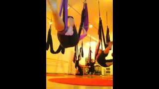 Aerial Yoga Play- Beginning Class (2012)