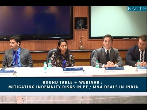 Round Table + Webinar : Mitigating Indemnity Risks in PE / M&A deals in India